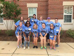 move in volunteer group
