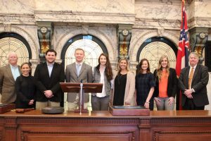 School of Law LLC members at state capitol